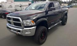 Make Ram Model 2500 Year 2012 Colour black kms 42600 Trans Automatic If your Looking for a POWERWAGON then look no more this is where your search ends ! This is ULTRA CLEAN and will work for you ! If you would like more info please Text or reply to this