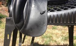 Almost new Prestige D1K Zero mono flap dressage saddle. The Mercedes under dressage saddles. Only selling because it doesn't fit my new horse. 2 years old and hasn't been ridden in much, my loss is your gain (new price is $5500 plus tax). In excellent