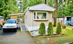 # Bath 1 Sq Ft 750 MLS 404445 # Bed 2 Family and pet friendly! This 2 bedroom 1 bath manufactured home in Forest Glade Park has lots of great features such as new cabinets, a new roof, detached shed and updated appliances with all receipts. This home has