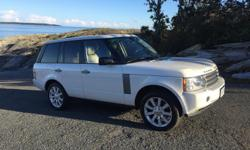 Make Land Rover Model Range Rover Classic Year 2008 Colour White kms 86000 Trans Automatic Beautiful 2008 Range Rover HSE. One family, owned since new - purchased in Vancouver at MCL. Very low km, immaculate vehicle. Upgraded vehicle package. Will post