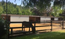 We are a small private acreage with one space available for boarding your horse. Offering self and full board options. We are looking to keep the facilities friendly, relaxed and centered around the horses; to do that we need the right individuals! If you