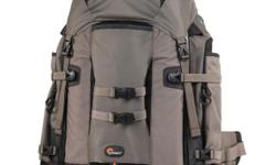 Brand New Lowepro Pro Trekker 400 AW professional photographer backpack. This will carry all the gear you'll need - Camera bodies, lenses, tripods, etc. Pockets for SD cards, filters, travel documents. Great for hiking or travel. Airline carry on
