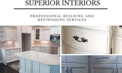 Superior Interiors Kelowna are the Okanagan's professional custom furniture and cabinet building and refinishing shop. We offer one of a kind custom quality built solid reclaimed Okanagan wood furniture and custom built solid wood kitchens specializing in