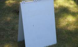 3ft by 4ft, Half inch ply, good for For Sale by Owner, or Open House