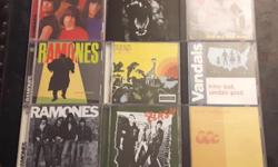 Ramones - Ramones Ramones - Pleasant Dreams Ramones - End of the Century The Distillers - The Distillers The Distillers - Coral Fang The Vandals - Fear of a Punk Planet The Vandals - hitler bad, vandals good Bad Religion - The Process of Belief The Clash