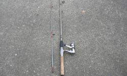 """Quantum Medium Spinning Rod ana Reel. Quantum Medium Spinning Rod & Quantum Micro MSoo 2 Ball Bearing Reel. In very good condition. ITS A HOUSE NUMBER SO DO NOT TEXT. """"""""DO NOT"""""""" CALL BEFORE 8 am. OR AFTER 9:00 pm. CASH ONLY. PICKUP ONLY VIEW MAP for"""
