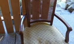Queen Anne Chair for sale - great reupholstery project! For collection only please. $20