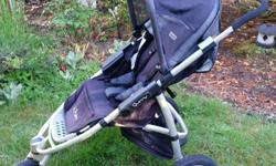 Quinny Speedi Jogging Stroller - well used but is clean and great stroller. Comes with a sun cover, rain cover. Non smoking no pet home. Now all cleaned and lubed, and ready for adventure :)