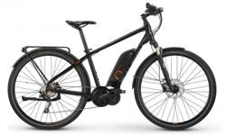 The Cadent iE boasts many of the same features found on the best European, high-speed trekking electric bikes. Top on the list is the 28mph assisted top speed, making it a Class-3 e-bike. The custom structural fenders, integrated Euro-style rear rack,