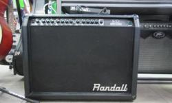 Randall RG100 G3 Series Guitar Combo Amp with foot switch 100 watt