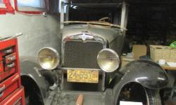 Make Chevrolet Year 1929 Colour gray Trans Manual kms 100000 This is a project vehicle with many new parts. List of $7087.38 related to restoration parts & services spent by the previous owner on: chrome plating, woodwork, hardware, paints & supplies. I