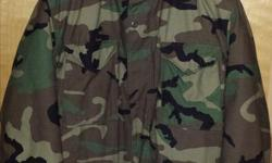 """Was a gift to me from a family member who is retired USAF. Was brand new when he gave it to me, and I've worn it maybe 6 times. Heavy duty zippers, velcro, buttons, etc. Comes with a full, removable liner. Very warm. I'm 6'4"""" 225lbs and it fits me great."""