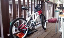 20 inch spx20, is ridable but needs some tlc. has gyro scope head set but needs to be set up, come with rear foot pegs. I ride it daily but like i say it needs some TLC