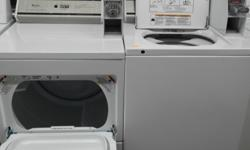 This ad goes out to all Landlords who may be interested in a great used set of a Coin Operated Washer & Dryer, made by Whirlpool, that is in fantastic working order ! It is one of Whirlpool's Newer Direct Drive Models & we are located in Victoria ! We