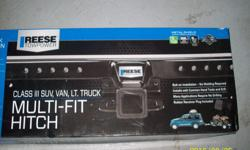 "Reese towpower 2"" receiver hitch 37042 Class iii SUV, VAN Light Truck Application 5000 lbs gross trailer weight Never used - still in box"