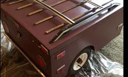 BC registered motorcycle trailer for sale. Trailer has just undergone a complete make over. Everything from fresh paint to tires. All the LED lights work, frame and substructure are in excellent condition. Comes with brand new spare and rim, plus new
