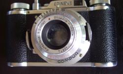 """**Check out my huge selection of vintage items and collectibles!** Click """"View seller's list"""" in the user profile section of this ad. ----------- Price firm Kataplast 1:2,8 / 50 lens Staeble - Werk Compur Made in West Germany . . . . . . . --------------"""