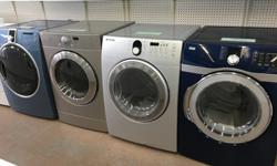 We have several makes and models of refurbished dryers for sale. Prices start at $189.00 and up. Photos displayed may not represent what we currently have in stock as we have a constant turnover of all appliances. All units have been checked, repaired,