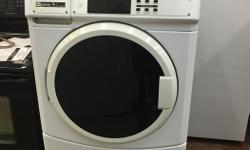We currently have a refurbished Maytag coin op washer for sale. All units have been checked, repaired, and tested by our in shop certified technicians. All appliances come with a 30 day in home parts and labor warranty within our service area - Chemainus