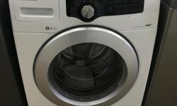 We currently have a refurbished Samsung washer for sale. All units have been checked, repaired, and tested by our in shop certified technicians. All appliances come with a 30 day in home parts and labor warranty within our service area - Chemainus to