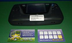 Item: Sega Game Gear was a pretty fun console when it was released. However the units haven't held up over the years. Almost all Game Gears today have blown caps that will cause the screen to not work correctly and will also cause the console to have no