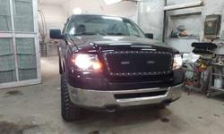 Make Ford Model F-150 Year 2007 Colour Black kms 200000 Trans Automatic My brother is selling his truck. Well maintained and has been in the shop for.. New complete brakes pads rotors and calipers New tires and rims New box New front doors New mirrors New