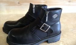 Ladies Harley Davidson riding boots size 8 Like new $75
