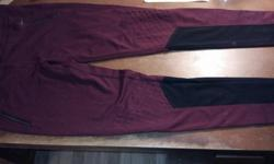 Bardot breeches. Burgundy. Size EUR 42, US 10/L Delivery possible.