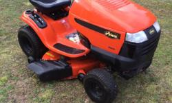 Ariens 19 horse power 42 inch cut,automatic hydrostatic,runs great excellent condition. 4 years old. Comes with spare oil filter,spare key and manual. $1600 O.B.O. I can deliver if need be.