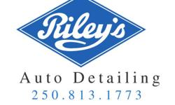 Welcome to Riley's Auto Detailing. Friendly, prompt and thorough cleaning of your vehicles using the finest products available. We also offer a free pick up and delivery service of your vehicle within the city limits. Call now for next appointment.