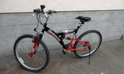 Like new 21 speed road or trail bike. Used very little. Tires are in new condition.