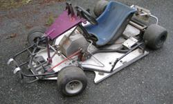 Trans Automatic 2, 100cc road race karts. KT 100 Yamaha(2) , comet, parillia, 1mild steel experemental, 1, 4130 chrome moly laydown. starters, spares. Both will qualify in various classes.