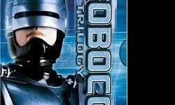 Robocop Trilogy 3 DVD set by MGM. The set contains the three Robocop films on 3 DVDs. This is the nicest DVD set packaging I've seen.