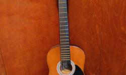 """Nice condition and sound. New strings from RUFUS Music. length: 2' 5 1/4"""" or 29 1/4"""" Comes with Cortez harmonic tuner (pitch pipe) $70 Great for child, youth, or travel."""