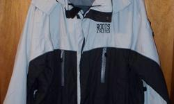 Roots athletics 2 in 1 jacket with removal liner jacket - external shell with removeable hood and winter liner that can be worn as a separate jacket   Size: 38-40   worn couple of times only   $35.00 Call 835-8148