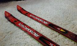 I have had my Rossignol skiis since 2005 and I have used them a handful of times. I blew out my left knee the year I bought them and have never really enjoyed skiing since. The skiis and bindings are in really good shape with minimal wear and tear.