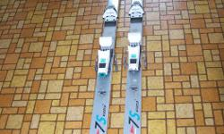"""Rossignol world cup shalom """"concept"""" ski's Made in France 7S Kevlar Ski's w/bindings - 76"""" long Good shape Price of $45. FIRM, cash only, you p/u Located in CHEMAINUS"""