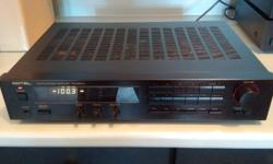 Rotel RX-940AX AM/FM Stereo Receiver. No dings or dents ! Very Good condition for it's age ! Circa 1992, originally retailed for approx $549 . Conservatively rated at 30 watts minimum rms of continuous power per channel, both channels driven with no more