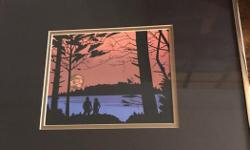 Framed litho by Roy Henry Vickers. New $90, selling for $40.