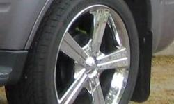 Four rims in excellent condition. Bolt pattern for 2008 Ford Escape, will fit some other makes. 245/45ZR20 low profile tires on rims but need replacing. Asking $400. Threejats@gmail.com or 250-352-3014 Nelson BC