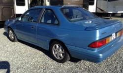 Make Ford Model Tempo Colour BLUE Trans Automatic kms 243000 1993 Ford Tempo - RUNS GREAT! NEW: (Over $2000) 1. Brakes front and back 2. Head Gasket 3. Radiator 4. Starter and ignition key 5. Belt tensioner and belt 6. Tie Rods 7. Wheel Alignment 8. Oil