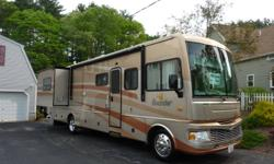 2006 FLEETWOOD BOUNDER 35E     NO PETS/NO SMOKING   UPGRADES Banks Power - $3,500 Steer Safe - $440 Hard-wired 50 amp Surge Guard - $550 Dirt Devil Central Vacuum System - $470 Tyvek Top-zip Cover - $530 Winegard Direc-TV Slimline Satellite Dish (new in