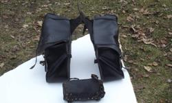 Saddle bags - pouch like new 50.. or best offer