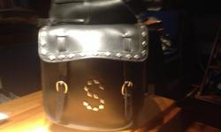 A great set of real leather saddlebags that I've had for years in excellent condition