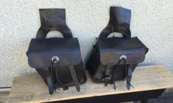 Travelcade hang over style saddlebags smaller size good condition