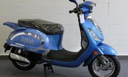 This Scooter's beautiful lines and chrome accent give it character over many others on the road today. The overall contour of the body is reminiscent of the old Italian Vespa so sought after today. Instead of a troublesome and polluting 2-Stroke motor