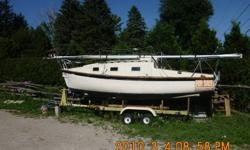 21ft sailboat, a1987 yankee condor, new mast and sails,5and a half horsepower outboard mtr. great running condition $2000 o.b.o.or let me no what u got to trade