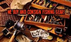 We buy and consign Fresh water and Salt water fishing gear & tackle, Nautical Equipment, boating safety related items, and what you may have, We provide full Consignment services with full access to your account details online at your convenience. We also