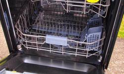DMR78AHW stainless interior dishwasher, built in. Approx 4 year old Samsung built in dishwasher. Stainless interior and white face. Digital controls. So my friend had this in his house, bought about 4 years ago. Stopped working the other day and he