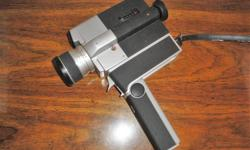 """**Check out my selection of vintage items and collectibles!** Click """"View seller's list"""" in the user profile section of this ad. Look for the loonie in some of the photos for size and scale. ----------- Price firm This camera belonged to my father. It"""